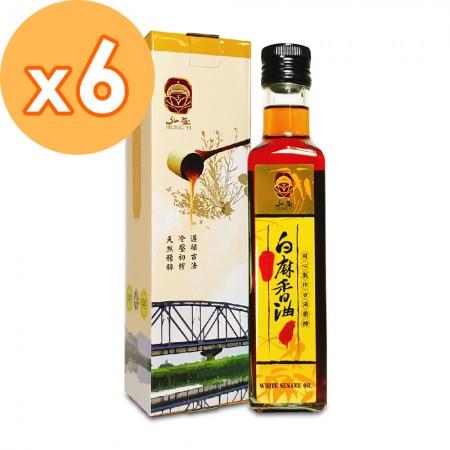 嚴選白麻香油(6入組)